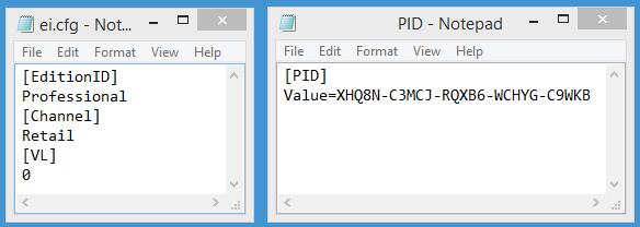 generic key windows 10