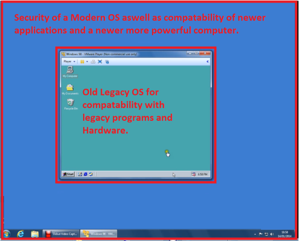 how to install operating system on vmware machine
