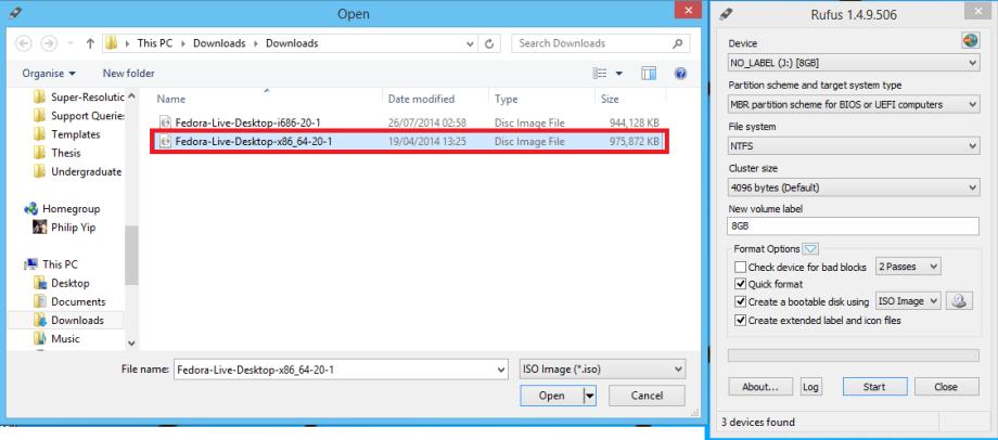 Fedora Bootable 4