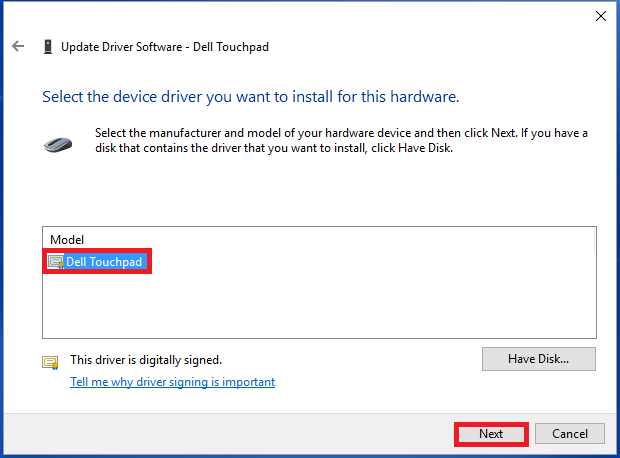 Драйвер для Touchpad Acer