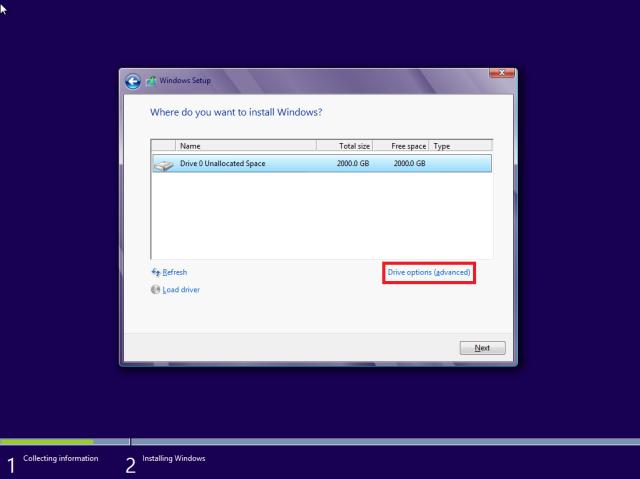 Installing windows xp on a new hard drive sata backupervc for Installing new windows
