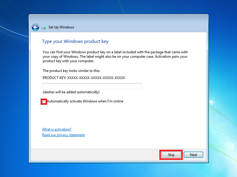 Activate windows 7 ultimate using cmd