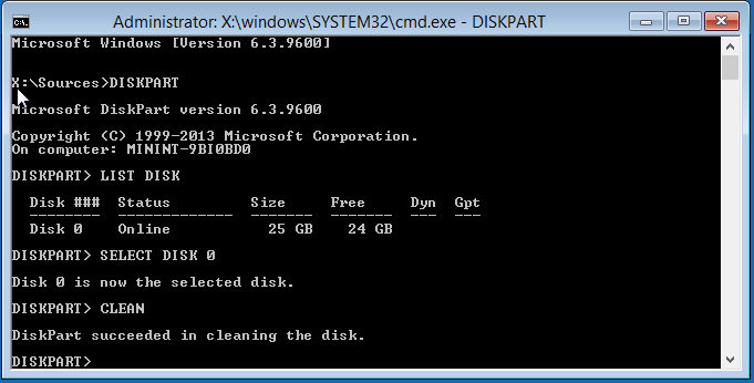 how to fix hdd using command prompt