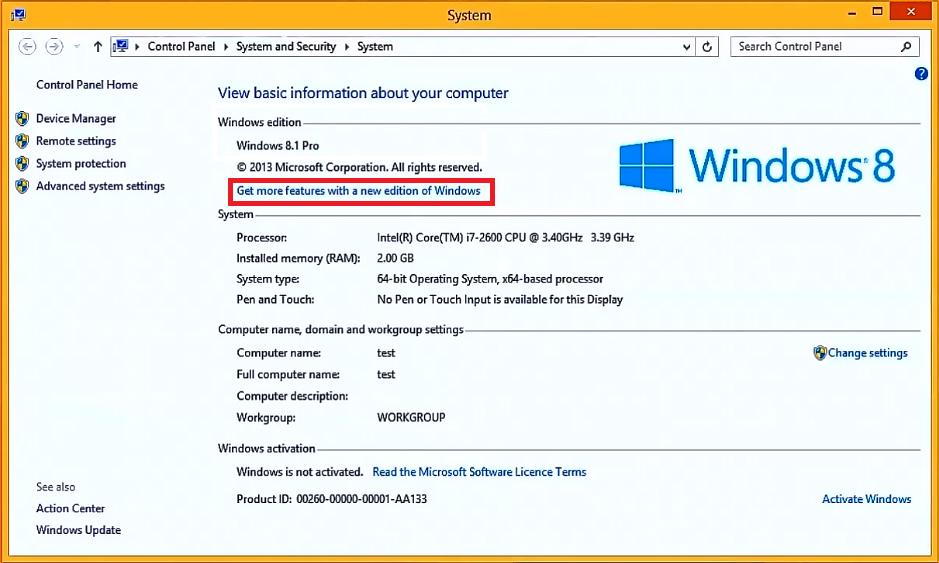 windows 8.1 trial direct