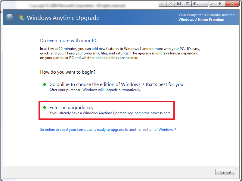 how to clean install windows 7 without product key