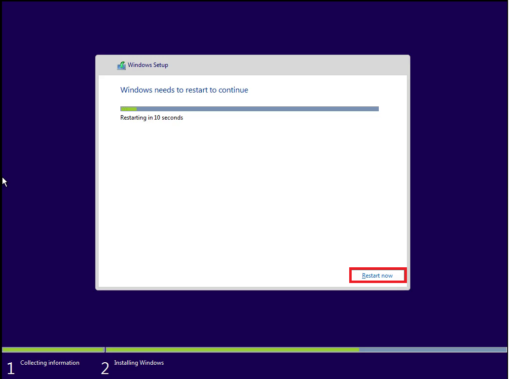 how to make a windows 10 install usb from iso