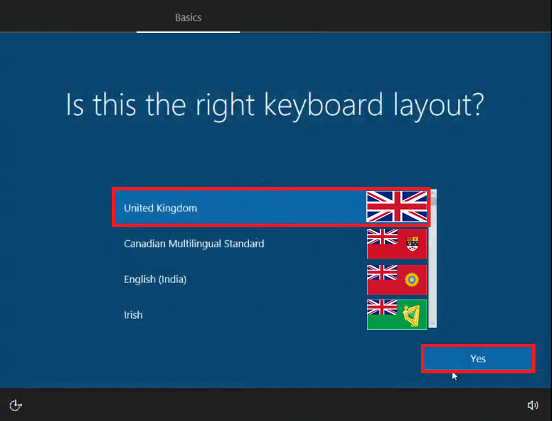 how to add keyboard layout in windows 10