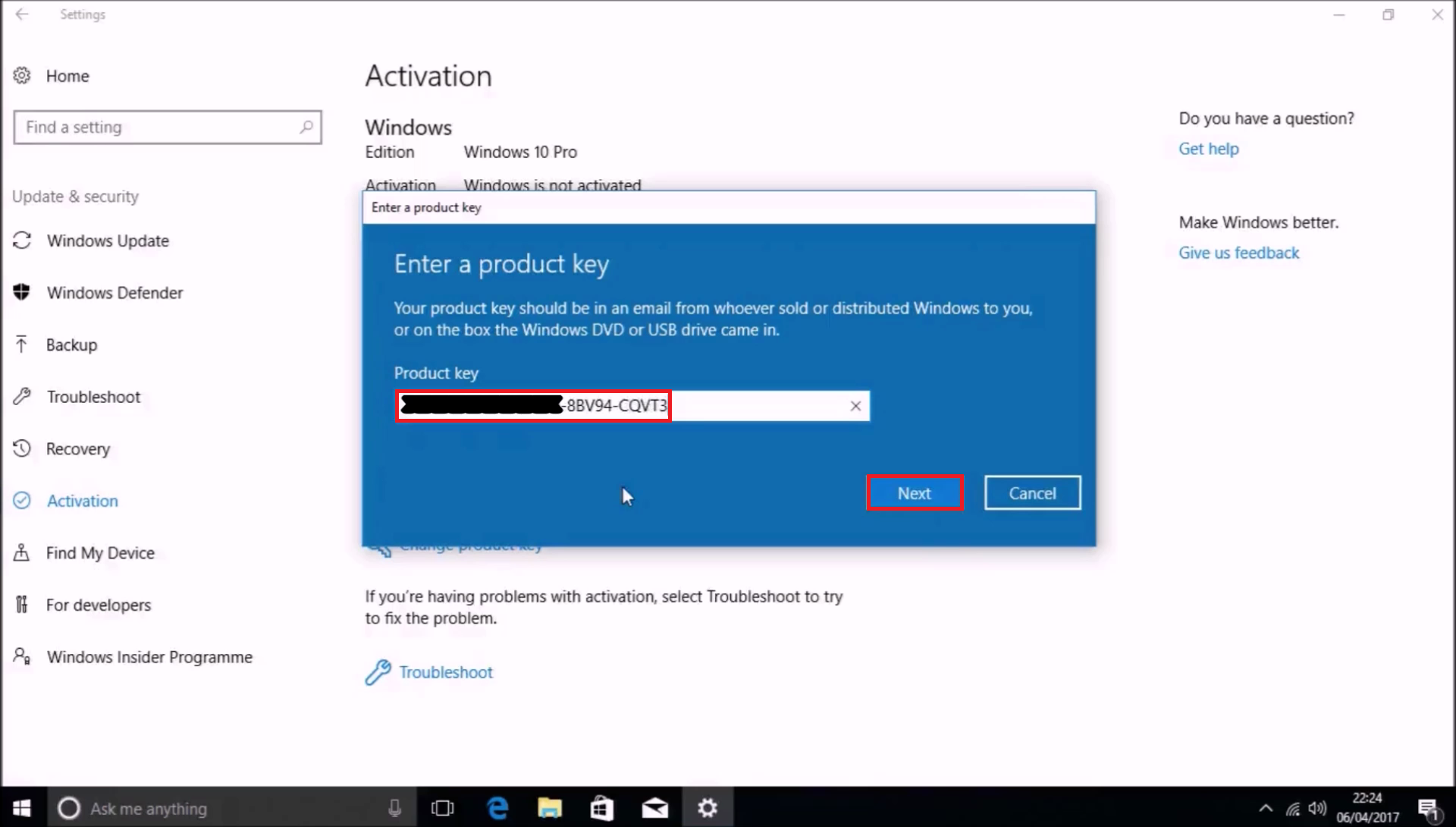 Windows  Can You Still Activate Build