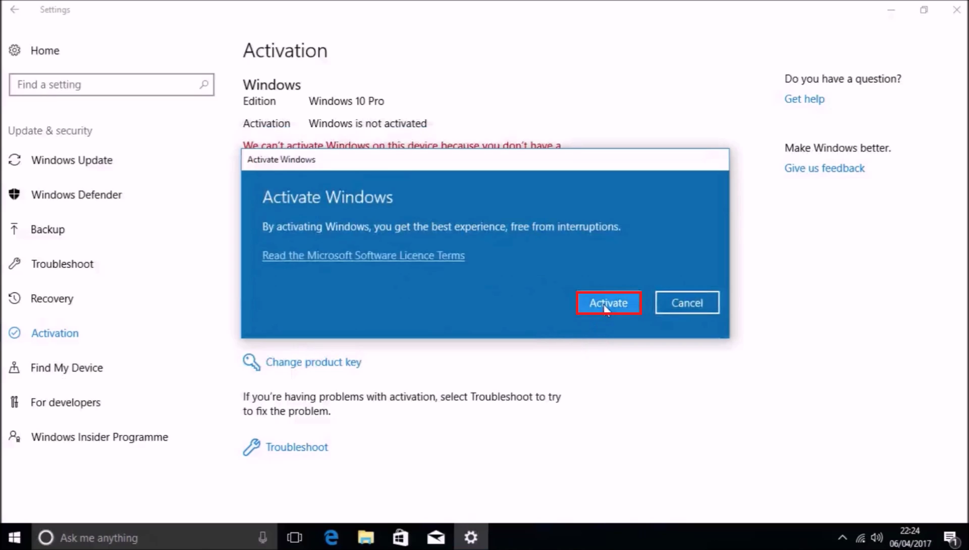 Windows 7 oem keys and windows 8x oem keys still activate windows so i have confirmed that the product activation server still accepts windows 7 oem keys for the initial activation of a windows 10 installation and not ccuart Gallery