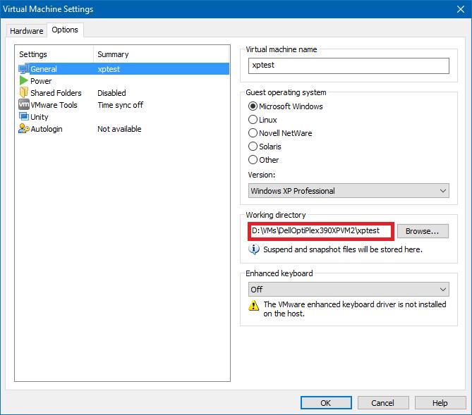 Vmware workstation 12.5 enhanced keyboard driver