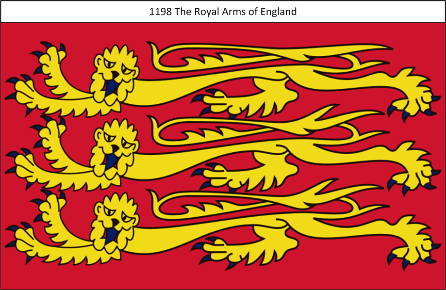 1198 Royal Standard of England