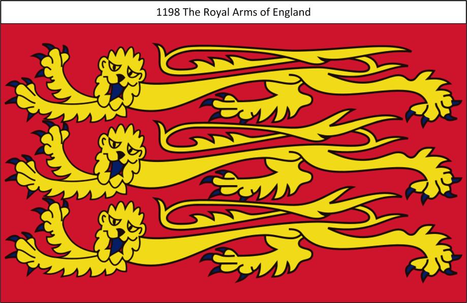 1198 Royal Standard of England