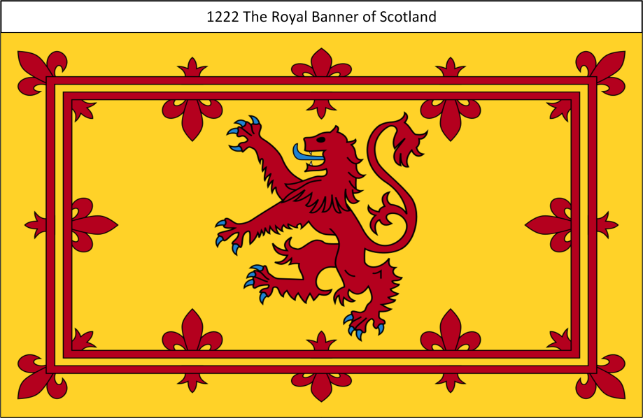 1222 The Royal Banner of Scotland