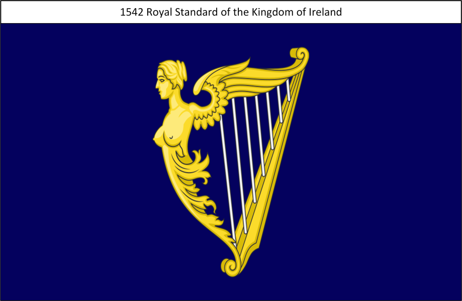 1542 Royal Standard of the Kingdom of Ireland