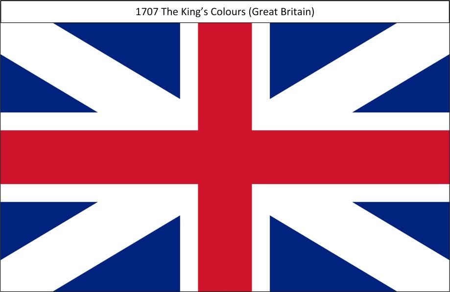 1707 2. Kings Colours