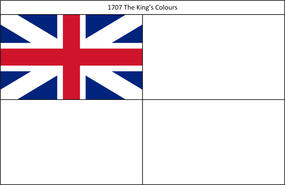 1707 3. Kings Colours