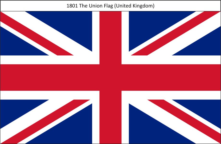 1801 2. Union Flag