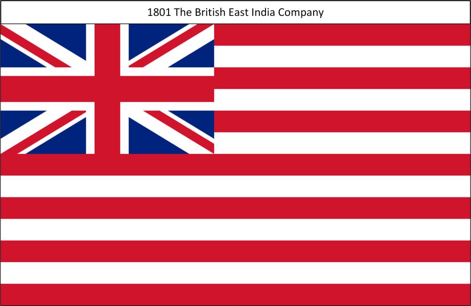 1801 9. The British East India Company