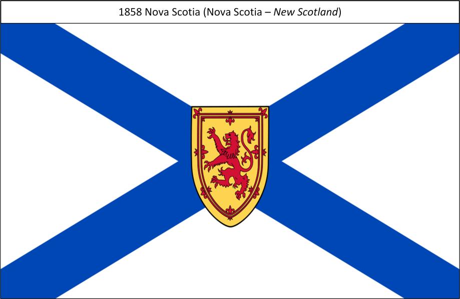 1858 Nova Scotia