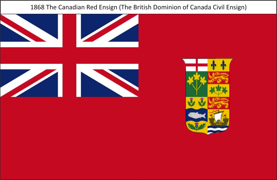 1868 The Canadian Red Ensign S. All