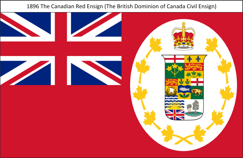 1896 The Canadian Red Ensign S. All