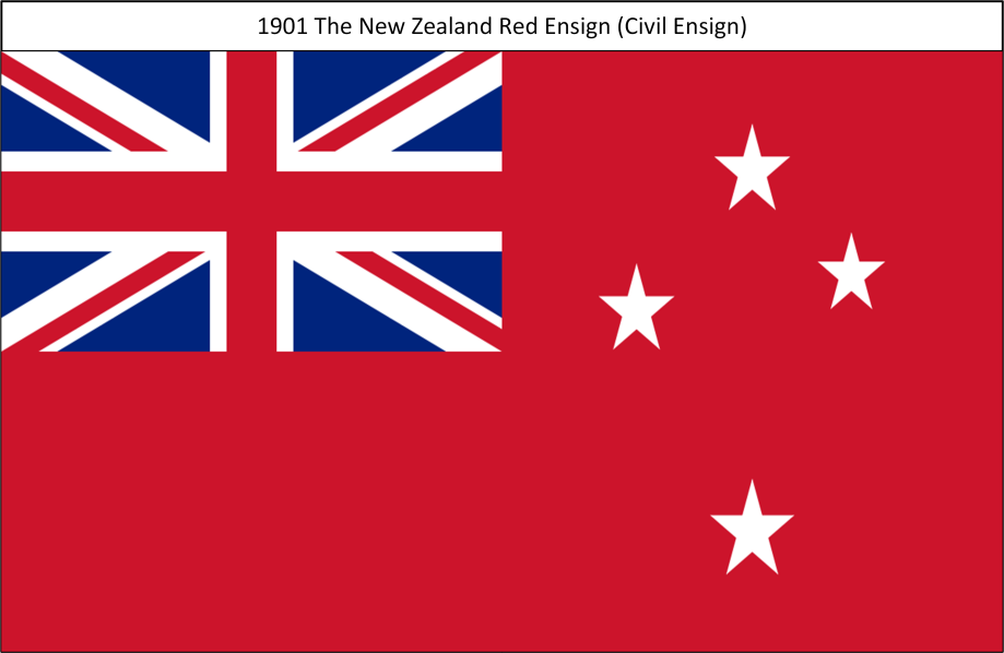 1901I All TheNewZealandRedEnsign