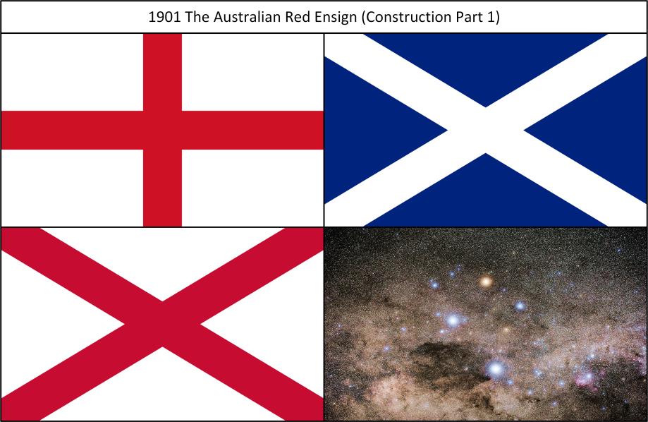 1901K The Australian Red Ensign Construction Part 1