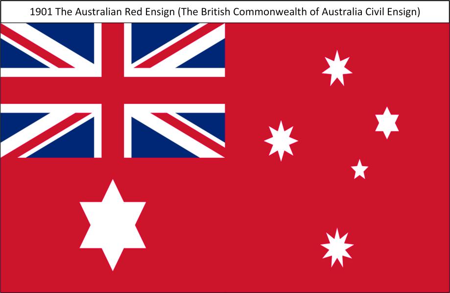 1901S TheAustralianRedEnsign