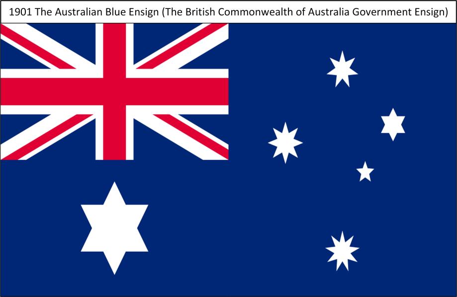 1901T TheAustralianBlueEnsign