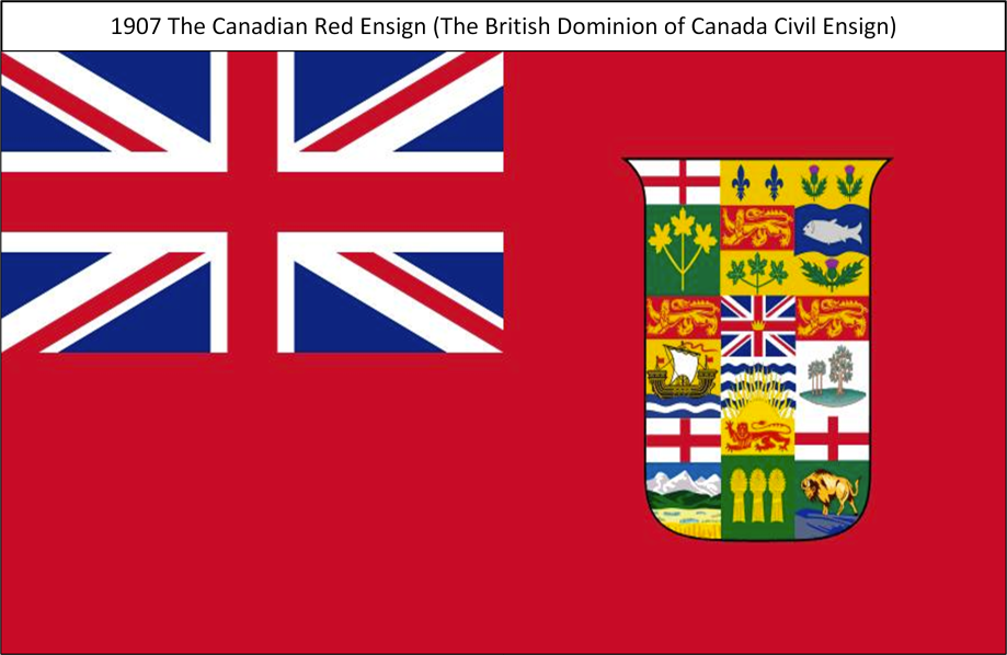 1907 The Canadian Red Ensign S. All