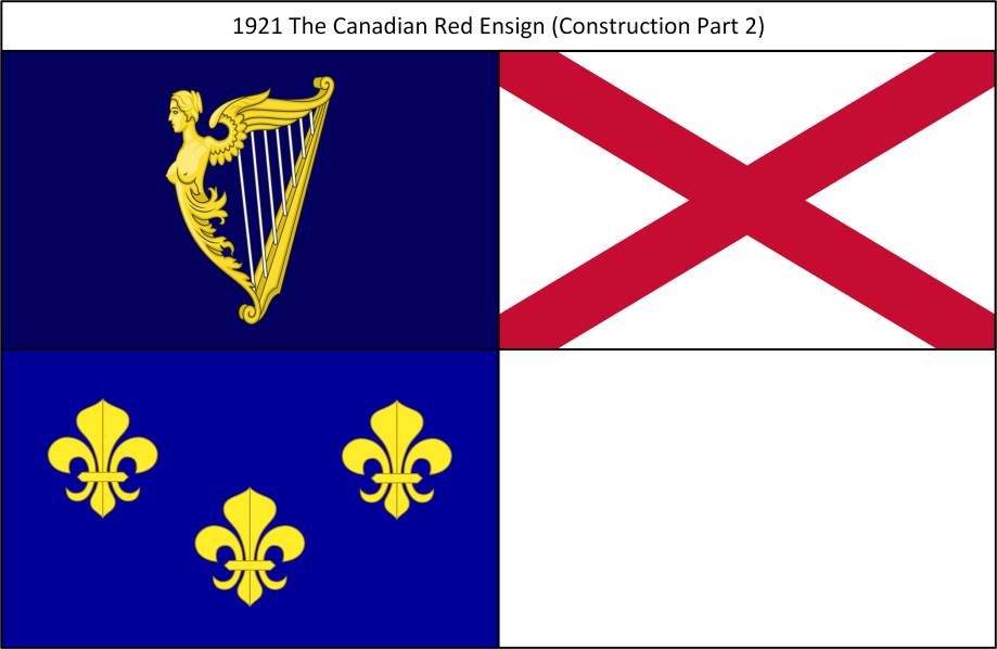 1921 The Canadian Red Ensign 2. Construction