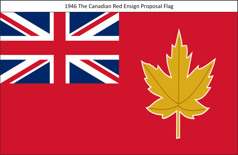 1946 The Canadian Red Ensign Flag Proposal