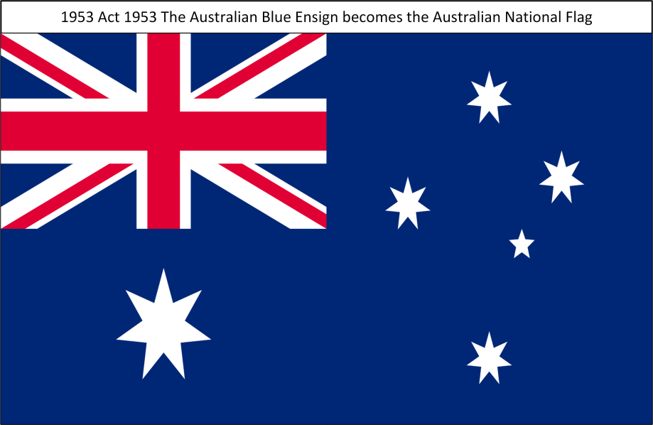 1953 TheAustralianBlueEnsign