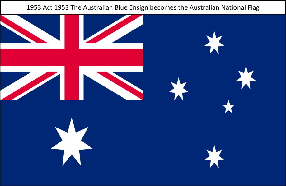 1953 TheAustralianBlueEnsign