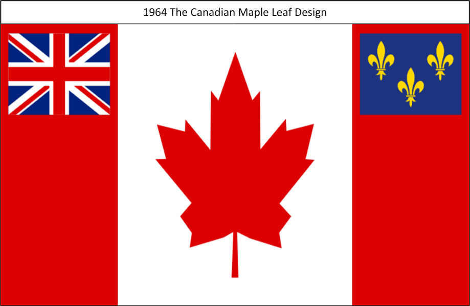 1964 The Canadian Maple Leaf Design Proposal