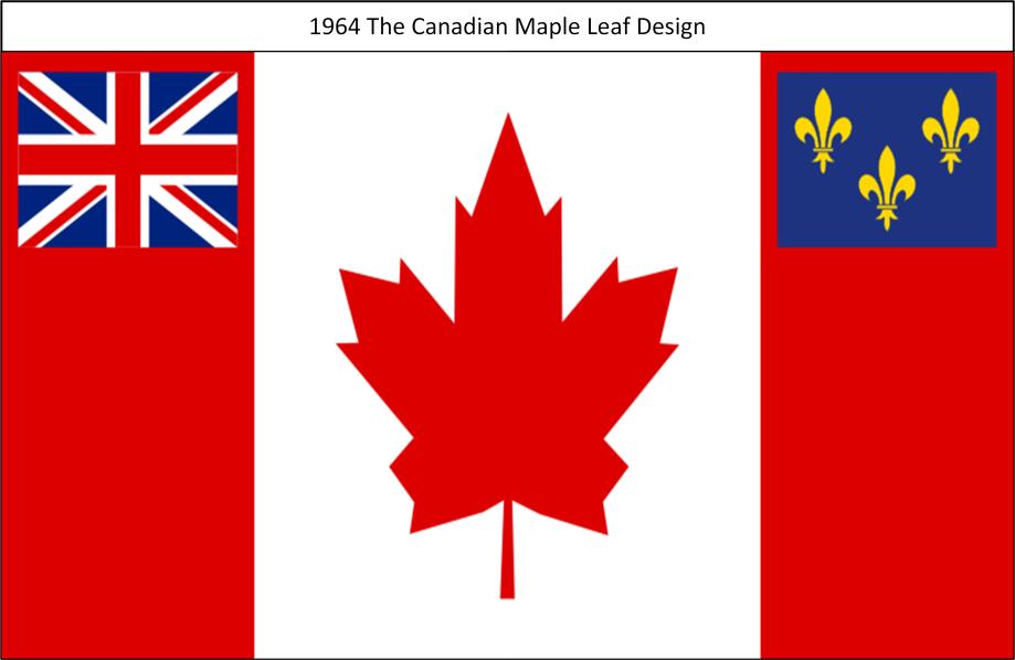 1964 The Canadian Maple Leaf Design Proposal
