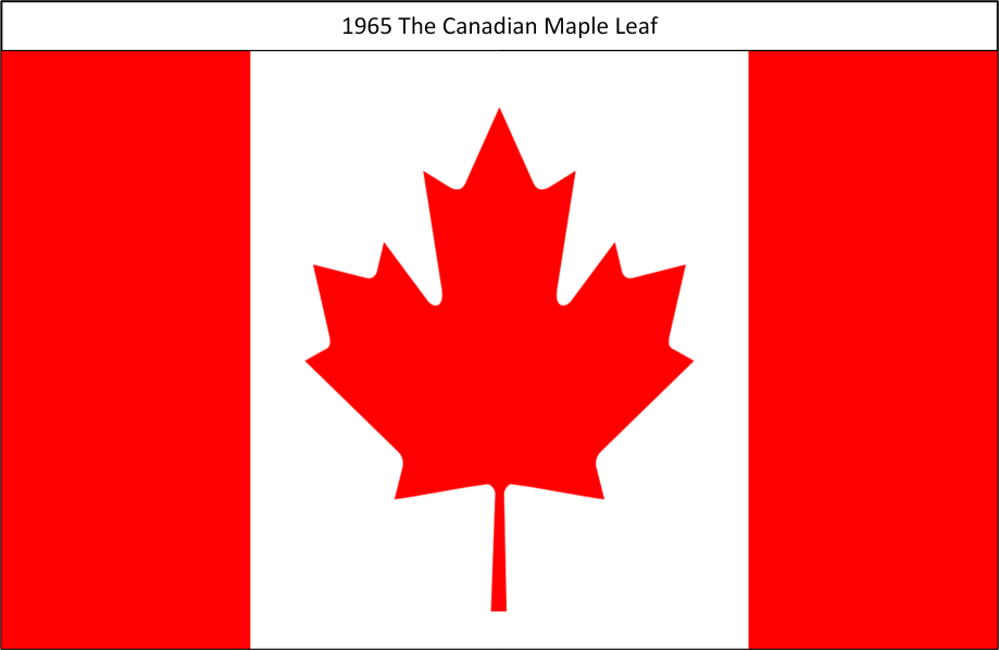 1965 The Canadian Maple Leaf